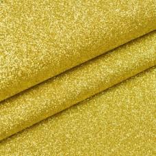 Ткань с мелкими блестками, золото 34*45см