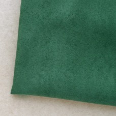 Искусственная замша, зелёная, 50*35см