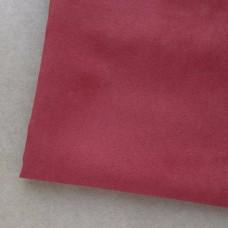 Искусственная замша, красная, 50*35см