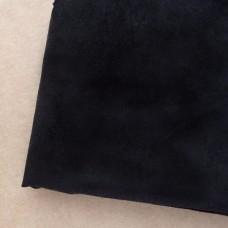 Искусственная замша, чёрная, 50*35см