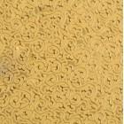 Искусственная кожа завитки, золото/золото, 35*50см