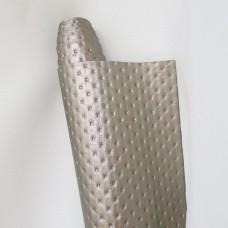Искусственная кожа, каретная стяжка, крем., 35*50см