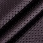 Искусственная кожа, каретная стяжка, тёмный баклажан, 35*50см
