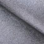Ткань с мелкими блестками, серая, 34*48см