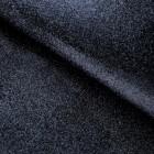 Ткань с мелкими блестками, чёрная, 34*48см