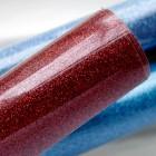 Термотрансферная плёнка, с блёстками, красная, 25*25см