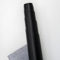 Искусственная кожа, чёрная, 35*50см