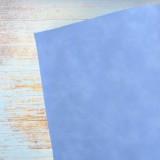 Искусственная кожа, синяя, 35*45см
