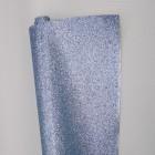 Ткань с мелкими блестками, холодный голубой, 34*48см