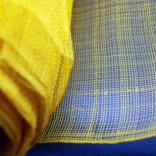 Декоративная сетка желтая