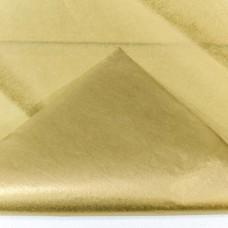 Бумага тишью, 50*66мм, 10шт, золотая