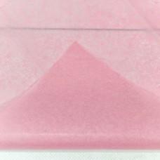 Бумага тишью, 50*66мм, 10шт, розовая