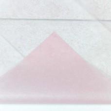 Бумага тишью, 50*66мм, 10шт, светло-розовая