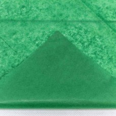 Бумага тишью, 50*66мм, 10шт, зелёная