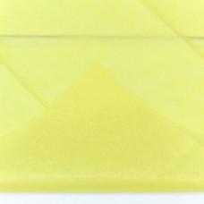 Бумага тишью, 50*66мм, 10шт, жёлтая