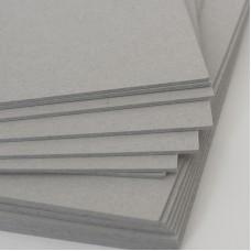 Картон переплетный серый/серый 1,5мм, 70*100см