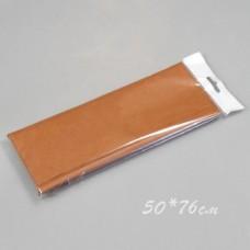 Бумага тишью, 50*76см, 10шт, коричневая