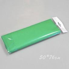 Бумага тишью, 50*76см, 10шт, зелёная