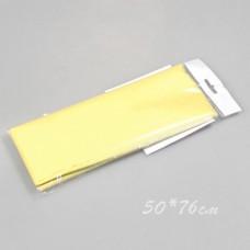 Бумага тишью, 50*76см, 10шт, жёлтая