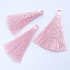 Кисточка нежно-розовая 65мм