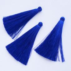 Кисточка синяя 65мм