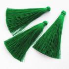 Кисточка зеленая 65мм