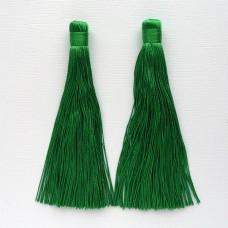 Кисточка зелёная 120мм