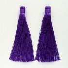 Кисточка фиолетовая 120мм