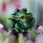 Керамическая фигурка лягушка, 4,5*5