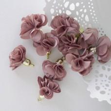 Кисточка цветок, капучино, 28мм