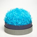 Наполнитель бумажный, ярко-голубой, 100гр.